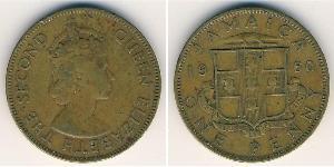 1 Penny Jamayica (1962 - ) Bronze