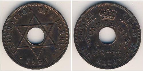 1 Penny Nigeria Bronzo