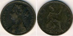 1 Penny Reino Unido Cobre