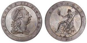 1 Penny  Cobre Jorge III (1738-1820)