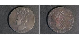 1 Penny Barbados Copper