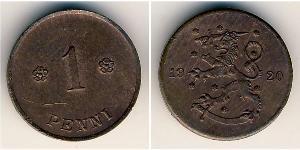 1 Penny Finland (1917 - ) Copper