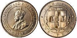 1 Penny Jamaica (1962 - ) Copper/Nickel