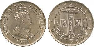 1 Penny Jamaica (1962 - ) Copper/Nickel Edward VII (1841-1910)