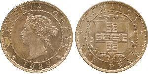 1 Penny Jamayica (1962 - ) Cuivre/Nickel Victoria (1819 - 1901)