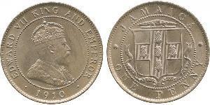 1 Penny Jamaika (1962 - ) Kupfer/Nickel Eduard VII (1841-1910)