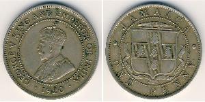 1 Penny Jamaica (1962 - ) Níquel/Cobre