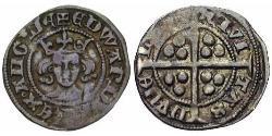 1 Penny Reino de Inglaterra (927-1649,1660-1707) Plata Eduardo III (1312-1377)