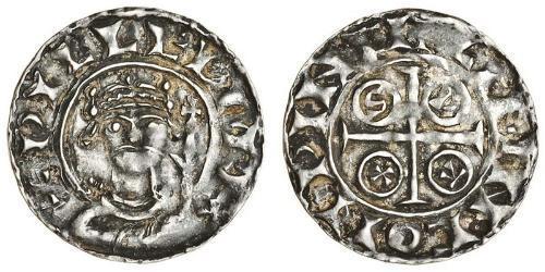 1 Penny Reino de Inglaterra (927-1649,1660-1707) Plata Guillermo I (1027 - 1087)