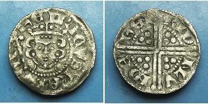 1 Penny Königreich England (927-1649,1660-1707) Silber Heinrich III (1207 - 1272)