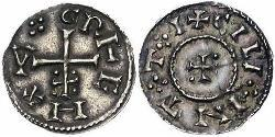 1 Penny Kingdom of England (927-1649,1660-1707) Silver