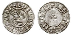 1 Penny Kingdom of England (927-1649,1660-1707) Silver