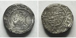 1 Penny Kingdom of England (927-1649,1660-1707) Silver Elizabeth I (1533-1603)