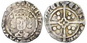 1 Penny Kingdom of England (927-1649,1660-1707) Silver Henry VI (1421-1471)
