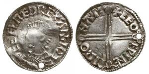 1 Penny Kingdom of England (927-1649,1660-1707) Silver Aethelred II (968 - 1016)