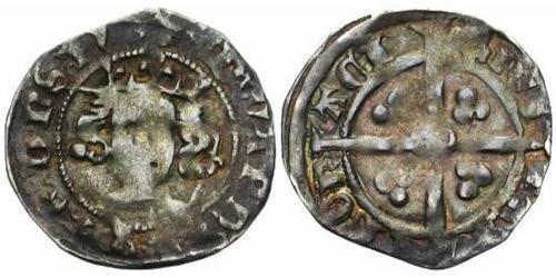 1 Penny Kingdom of England (927-1649,1660-1707) Silver Edward III (1312-1377)