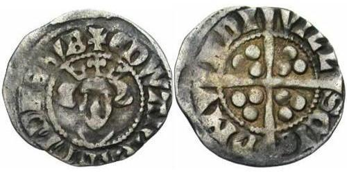 1 Penny Kingdom of England (927-1649,1660-1707) Silver Edward I (1239 - 1307)