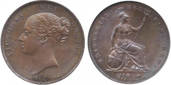 1 Penny United Kingdom of Great Britain and Ireland (1801-1922)  Victoria (1819 - 1901)