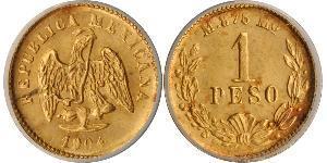 1 Peso 墨西哥 金