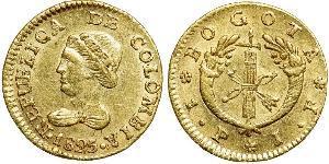 1 Peso 大哥倫比亞共和國 (1821 - 1831) 金