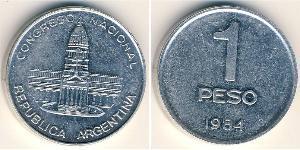 1 Peso Argentinien (1861 - ) Aluminium