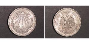 1 Peso Messico (1867 - ) Argento