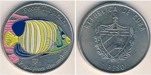 1 Peso Cuba Cuivre/Nickel