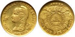 1 Peso Honduras Gold