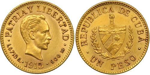 1 Peso Kuba Gold