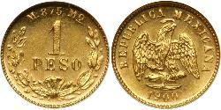 1 Peso Mexiko (1867 - ) Gold