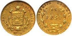 1 Peso Costa Rica Or