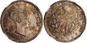 1 Peso Cuba Plata