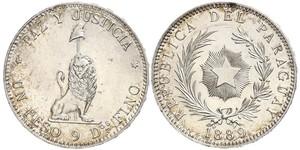 1 Peso Paraguay (1811 - ) Plata