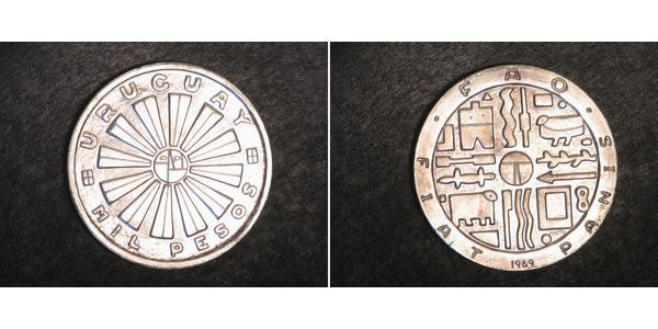 1 Peso Uruguay Plata