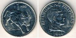 1 Peso Philippinen Rostfreier Stahl