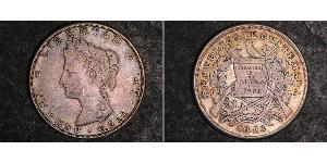 1 Peso Guatemala Silber