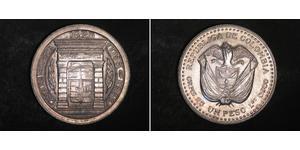 1 Peso Kolumbien Silber