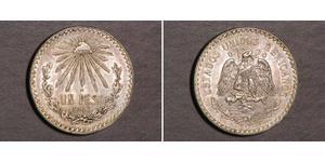 1 Peso Mexiko (1867 - ) Silber