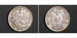 1 Peso Chile Silver