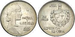 1 Peso Cuba
