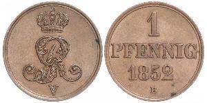 1 Pfennig 联邦州 (德国) 銅