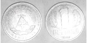 1 Pfennig German Democratic Republic (1949-1990) Aluminium