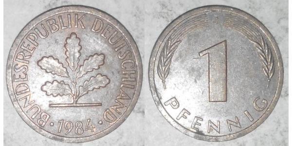 1 Pfennig West Germany (1949-1990) Bronze