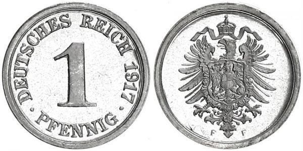 1 Pfennig Alemania Cobre