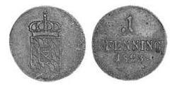 1 Pfennig Reino de Baviera (1806 - 1918) Cobre