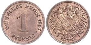 1 Pfennig Germany Copper