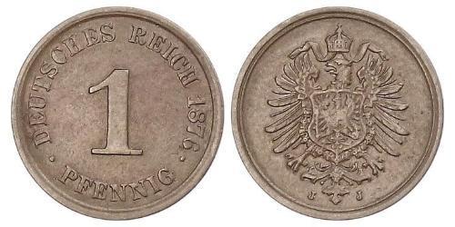 1 Pfennig Alemania