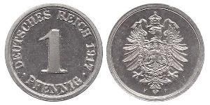 1 Pfennig German Empire (1871-1918) / Germany