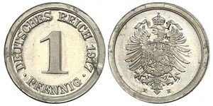 1 Pfennig Germania / Impero tedesco (1871-1918)