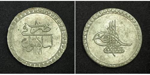1 Piastre Empire ottoman (1299-1923) Argent Moustapha III (1757 - 1774)